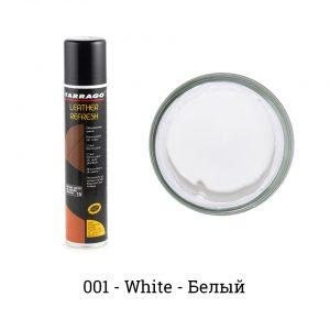 Аэрозоль-краситель для гладкой кожи Leather Refresh, 200мл. (белый)