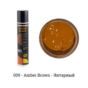 Аэрозоль-краситель для гладкой кожи Leather Refresh, 200мл. (amber brown)