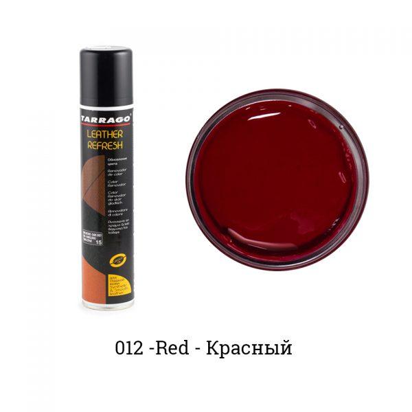Аэрозоль-краситель для гладкой кожи Leather Refresh, 200мл. (красный)