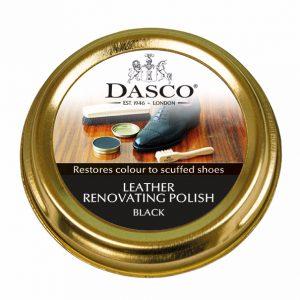 Крем для обуви, Dasco RENOVATING POLISH, 50мл. (черный)