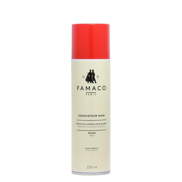 Спрей-восстановитель для замши Famaco AEROSOL DAIM 250 ML, красный, 250 мл