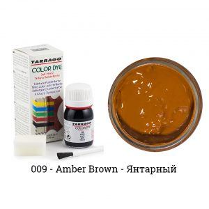 Укрывная краска Tarrago COLOR DYE, водно-восковая, 25мл. (amber brown)