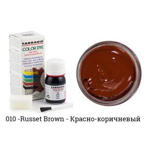 Укрывная краска Tarrago COLOR DYE, водно-восковая, 25мл. (russet brown)