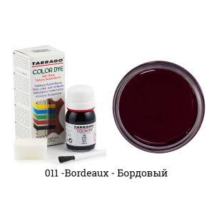 Укрывная краска Tarrago COLOR DYE, водно-восковая, 25мл. (бордовый)
