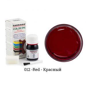 Укрывная краска Tarrago COLOR DYE, водно-восковая, 25мл. (красный)