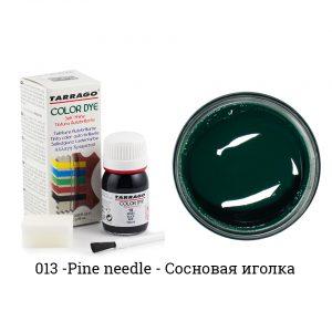 Укрывная краска Tarrago COLOR DYE, водно-восковая, 25мл. (pineneedle)