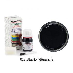Укрывная краска Tarrago COLOR DYE, водно-восковая, 25мл. (черный)