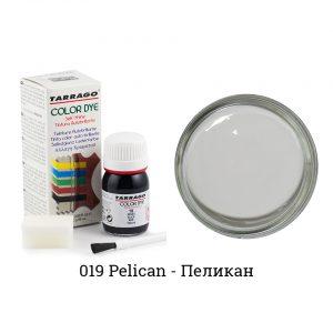 Укрывная краска Tarrago COLOR DYE, водно-восковая, 25мл. (pelican)