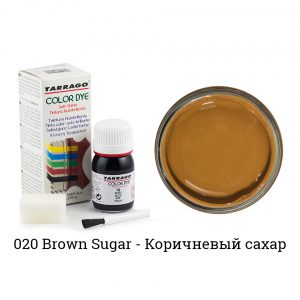 Укрывная краска Tarrago COLOR DYE, водно-восковая, 25мл. (brown sugar)