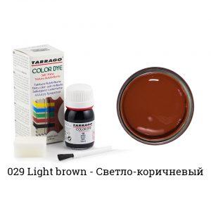 Укрывная краска Tarrago COLOR DYE, водно-восковая, 25мл. (светло-коричневый)