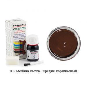 Укрывная краска Tarrago COLOR DYE, водно-восковая, 25мл. (средне-коричневый)