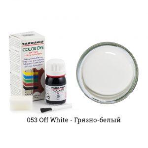 Укрывная краска Tarrago COLOR DYE, водно-восковая, 25мл. (грязно-белый)