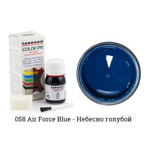 Укрывная краска Tarrago COLOR DYE, водно-восковая, 25мл. (air force blue)