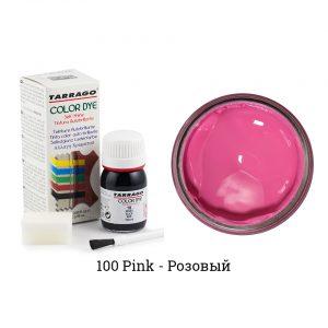 Укрывная краска Tarrago COLOR DYE, водно-восковая, 25мл. (розовый)
