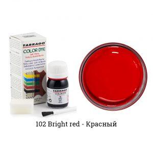 Укрывная краска Tarrago COLOR DYE, водно-восковая, 25мл. (bright red)