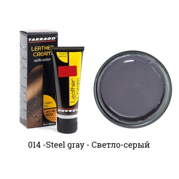 Крем для обуви в тюбике Tarrago, БОЛЬШОЙ, 75мл. (steel gray)
