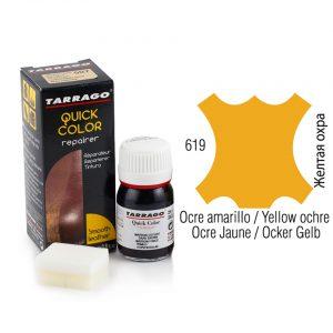 Восстанавливающая крем-краска Tarrago QUICK COLOR, 25мл. (желтый ochre)