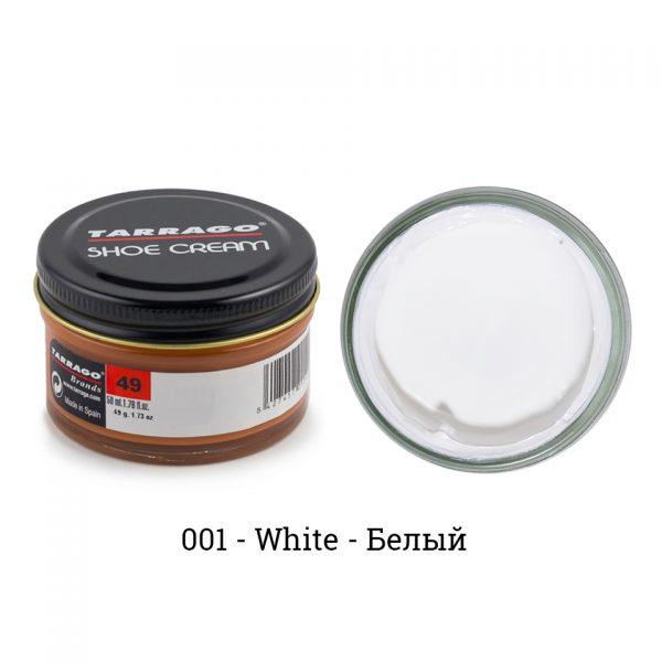 Крем Tarrago SHOE Cream 50мл. (белый)