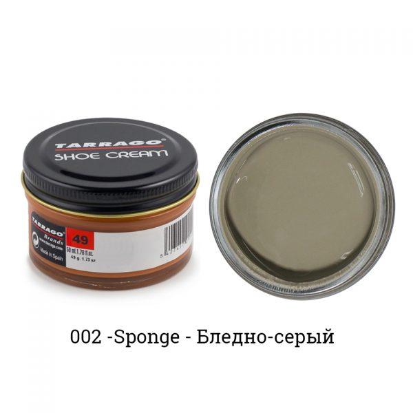 Крем Tarrago SHOE Cream 50мл. (sponge)