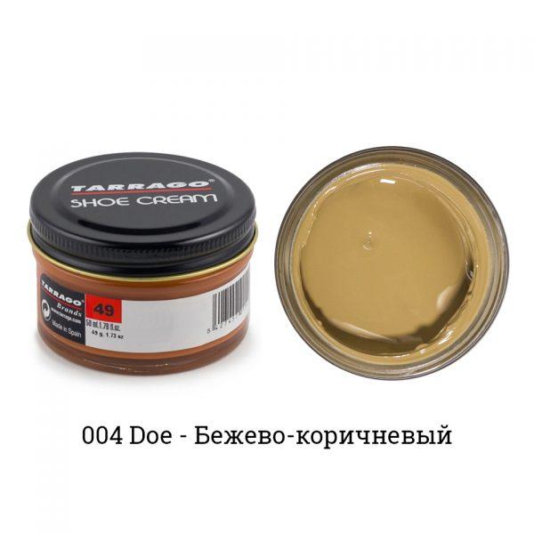 Крем Tarrago SHOE Cream 50мл. (doe)