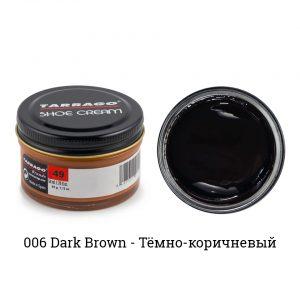 Крем Tarrago SHOE Cream 50мл. (темно-коричневый)