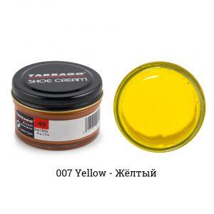 Крем Tarrago SHOE Cream 50мл. (желтый)