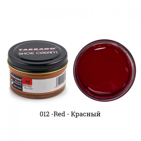 Крем Tarrago SHOE Cream 50мл. (красный)