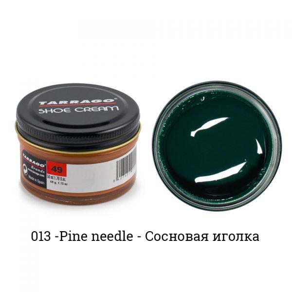 Крем Tarrago SHOE Cream 50мл. (pineneedle)