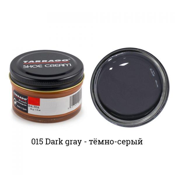 Крем Tarrago SHOE Cream 50мл. (темно-серый)