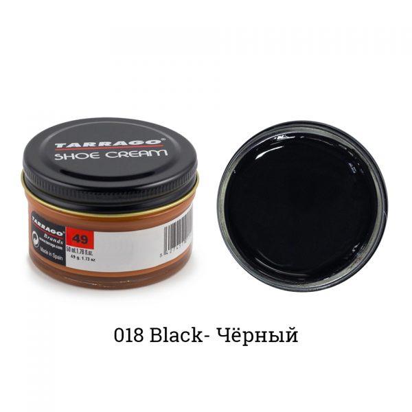 Крем Tarrago SHOE Cream 50мл. (черный)