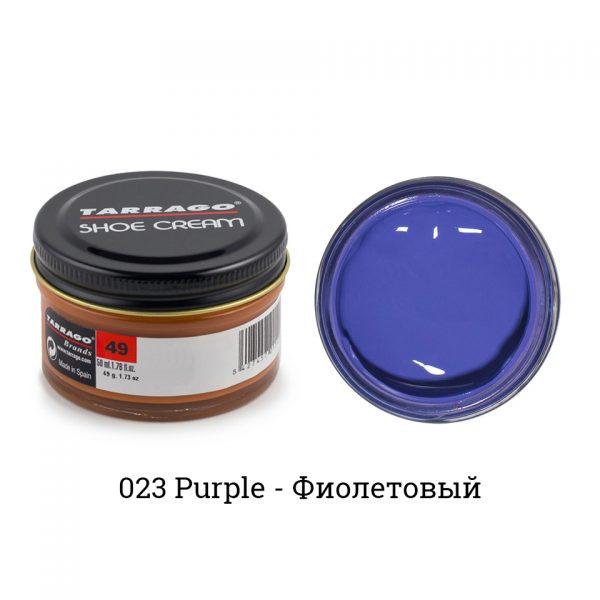 Крем Tarrago SHOE Cream 50мл. (purple)