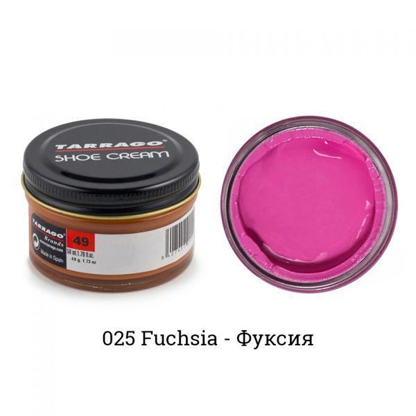 Крем Tarrago SHOE Cream 50мл. (fuchsia)