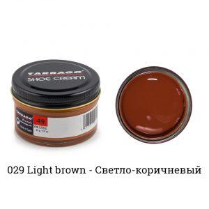 Крем Tarrago SHOE Cream 50мл. (светло-коричневый)