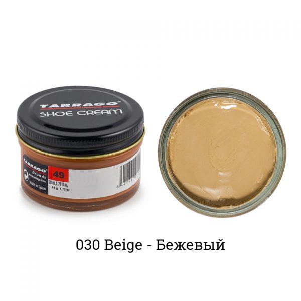 Крем Tarrago SHOE Cream 50мл. (бежевый)