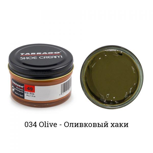 Крем Tarrago SHOE Cream 50мл. (olive)