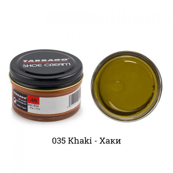 Крем Tarrago SHOE Cream 50мл. (хаки)