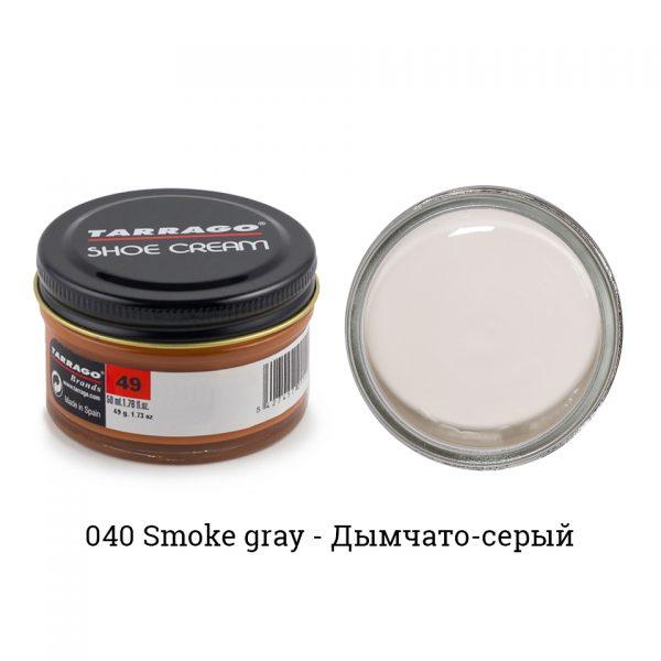 Крем Tarrago SHOE Cream 50мл. (smoke gray)