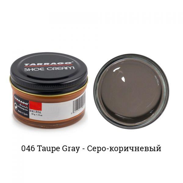Крем Tarrago SHOE Cream 50мл. (taupe gray)