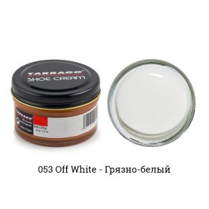 Крем Tarrago SHOE Cream 50мл. (грязно-белый)