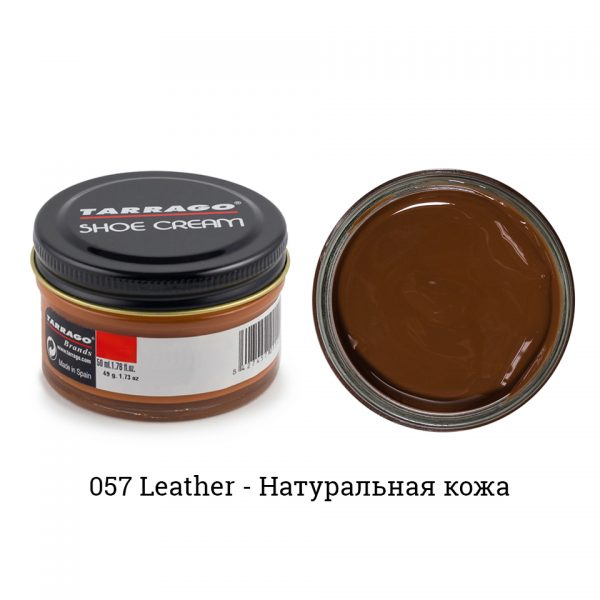 Крем Tarrago SHOE Cream 50мл. (leather)