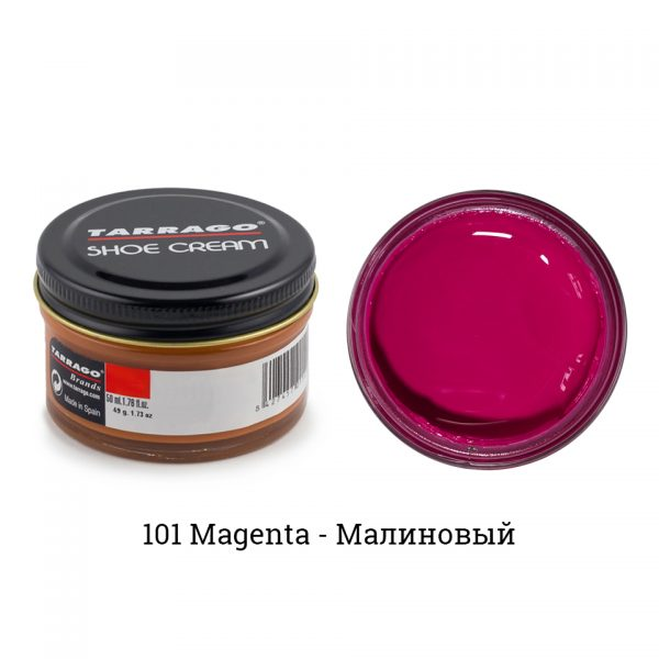 Крем Tarrago SHOE Cream 50мл. (magenta)