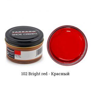 Крем Tarrago SHOE Cream 50мл. (bright red)