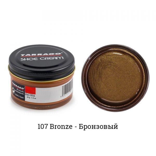 Крем Tarrago SHOE Cream 50мл. (bronze)