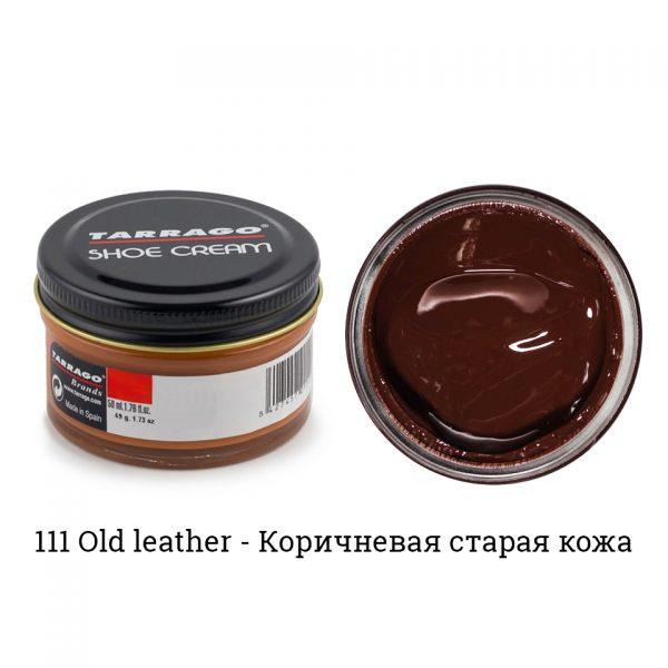 Крем Tarrago SHOE Cream 50мл. (old leather)