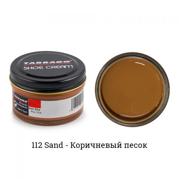 Крем Tarrago SHOE Cream 50мл. (sand)