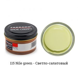 Крем Tarrago SHOE Cream 50мл. (nile green)