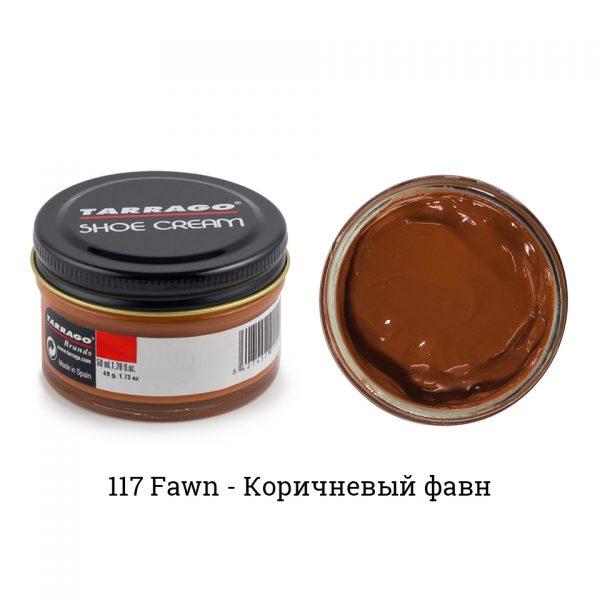 Крем Tarrago SHOE Cream 50мл. (коричневый фавн)