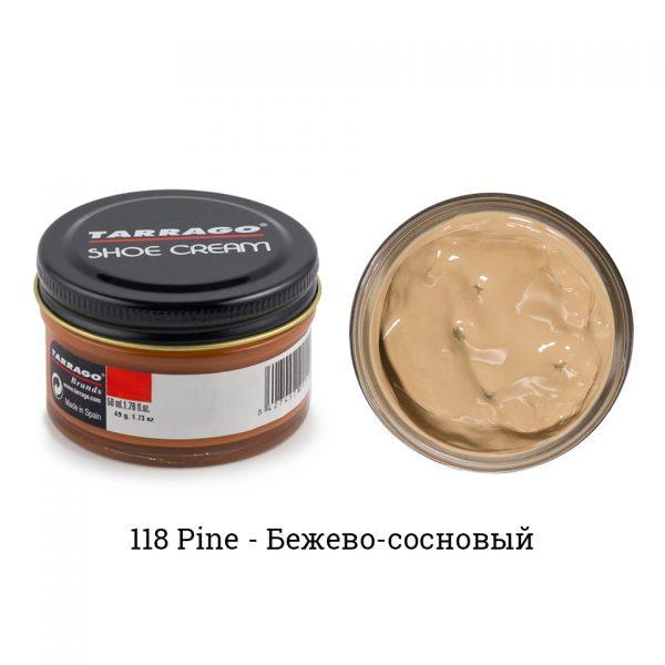 Крем Tarrago SHOE Cream 50мл. (pine)