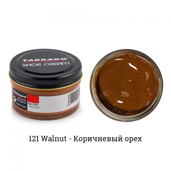 Крем Tarrago SHOE Cream 50мл. (walnut)