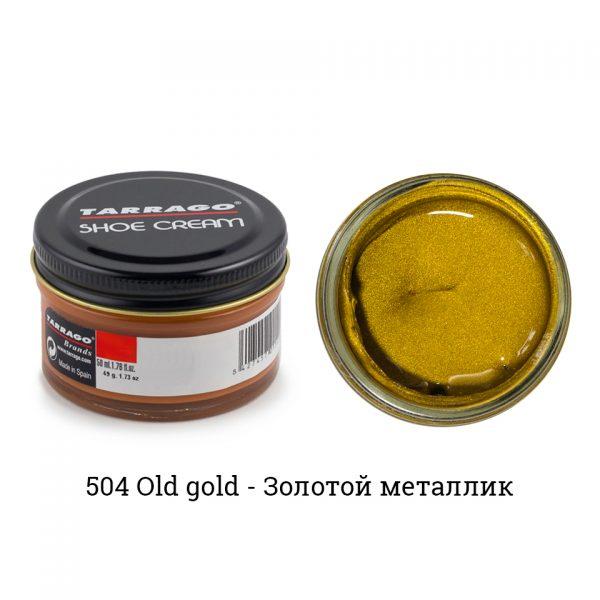 Крем Tarrago SHOE Cream 50мл. (old gold)